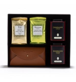 Caixa Coffret Excursion Dammann 2X30g + Bolsa para Chá
