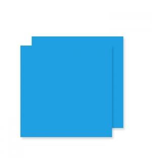 Cartolina 240gr 25Folhas 50x65cm Canson Iris Azul Maldivas