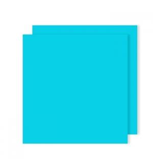 Cartolina 240gr 25Folhas 50x65cm Canson Iris Azul Turquesa