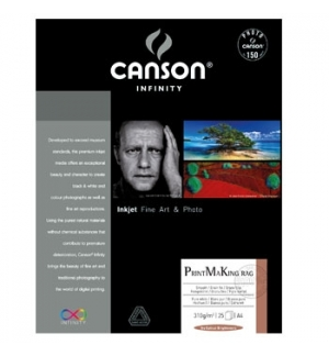 Papel Canson Infinity PrintMaking Rag A4 100% 310gr 10Fls