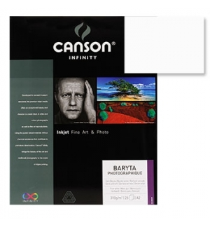 Papel Canson Infinity Baryta Photograph A3 310gr 25Fls