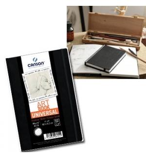 Caderno Canson Artbook Universal Fino A6 96gr 112Fls