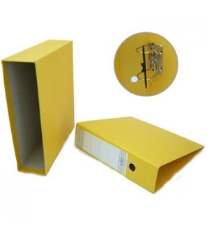 Pasta Arquivo+Cx Fixa L80 310x290 Ref 200CC Amarelo-1un