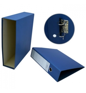 Pasta Arquivo+Cx Fixa L80 310x290 Ref 200CC Azul-1un