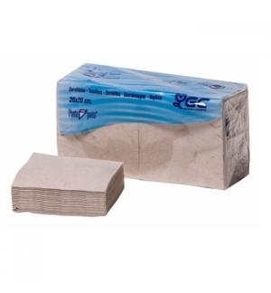 Guardanapos 20x20 2fls Nature P&P 100% Recycled 100un