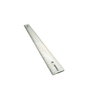 Regua Plastico Cristal SmartD 40cm -1 un