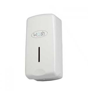 Saboneteira/Dispensador Gel Plastica Wosh 1Litro Branco