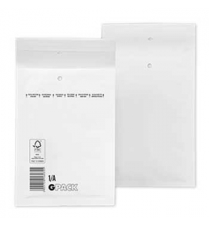 Envelopes Air-Bag 105x165 Branco Nº 000 un