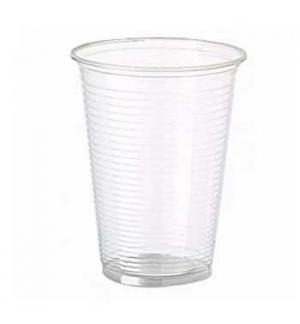 Copos Plastico PP Transparente (Agua/Cha) 330ml-(Pack50)