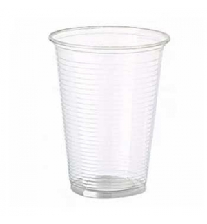 Copo Plástico 330ml PP Transparente (Água/Chá) 50un