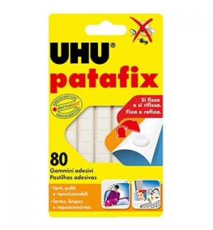 Fixadores UHU Patafix Branco (Massa Adesiva para Posters)-1u