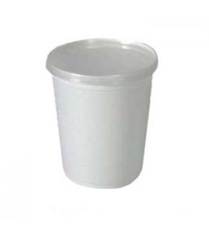 Caixa Alimentar PP Plástico Redonda 1000ml 25un