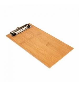 Porta Menus Clip Bambu 13x24,5x0,4cm 1un