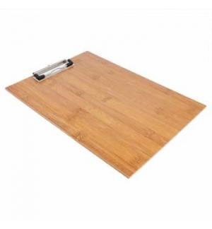 Porta Menus Clip Bambu 22,9x31,8x0,4cm 1un