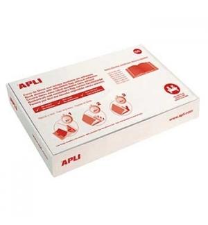 Forra Livros Ajustavel Apli 305x530mm Transp 130mic 100un