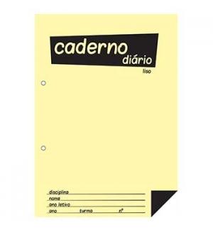 Caderno Diario Liso 25x17,6 (B5) 40fls 60grs 1un