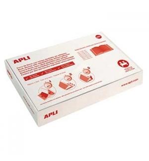 Forra Livros Ajustavel Apli 220x400mm Transp 130mic 100un