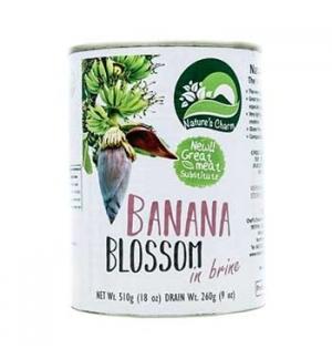 Flor de Banana em Agua Salgada Nature s Charm 510g 1un