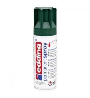 Tinta Acrilica Edding 5200 Spray 200ml Verde Musgo