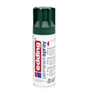Tinta Acrílica Edding 5200 Spray 200ml Verde Musgo