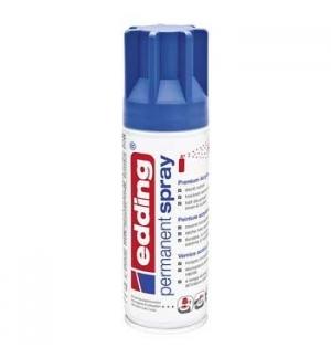 Tinta Acrilica Edding 5200 Spray 200ml Azul Genciana