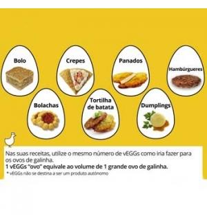 V`Eggs Culture Foods (Equivalente 20 Ovos) 64g