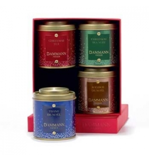 Caixa Coffret Season´s Greatings Dammann 4x30g
