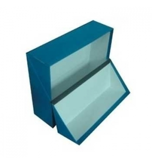 Caixa Arquivo Frances (365x280x100mm) Almaco Azul - 1un