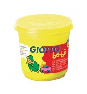 Pasta Modelar Giotto Be-Be 220gr Amarelo