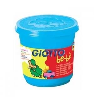 Pasta Modelar Giotto Be-Be 220gr Azul