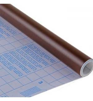 Forra Livros Rolo 0.50x3mts autocolante 100mic Opaco Castanh