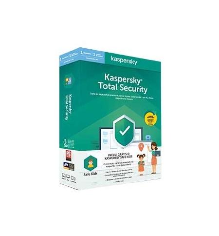 KASPERSKY Total Security 2020 1U1Y + Safe Kids