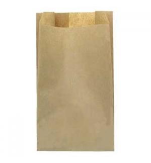 Sacos Papel Castanho 15x6x34cm p/ pao (Caixa de 1000un)