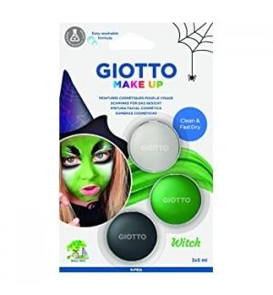 Pintura Facial Giotto Make Up 3x5ml Bruxa