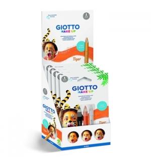 Lápis Facial Giotto Make Up Tigre 3un