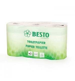 Papel Higienico Domestico 55mts 2Fls 6 Rolos