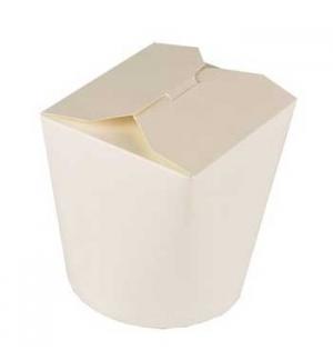 Caixa para Massas em Cartolina Branca 10x10x8,5cm 750ml 50u