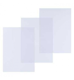 Acetato Encadernacao A3 Transparente Cristal (Clear) 180 mi