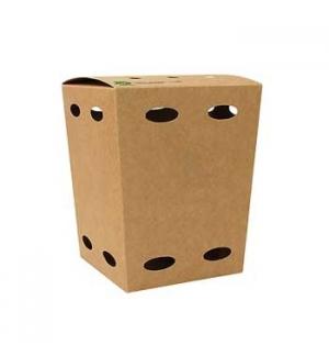 Caixa Cartão Batatas Fritas 15x10,5x10,5cm Kraft 1un