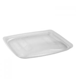 Tampa Alimentar Caixa PP Plástico Microondas 50un