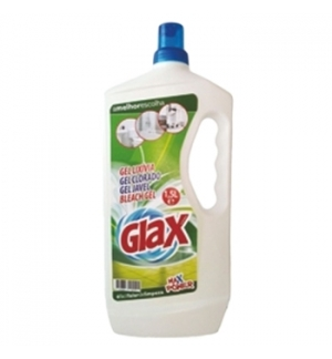 Detergente Glax Gel Lixívia Perfumado 1,5L