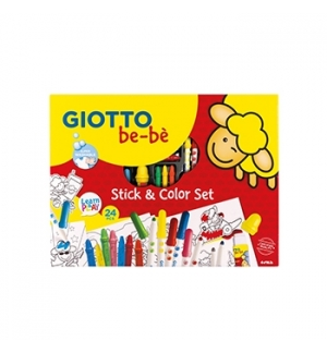 Conjunto Giotto Be-Be Colorir Stick & Color Set