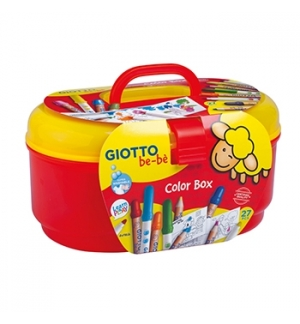 Conjunto Giotto Be-Be Colorir Supercolorbox