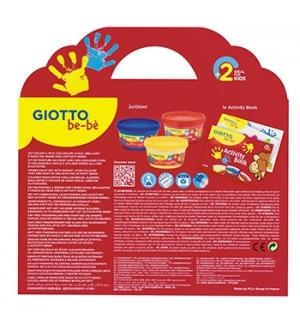 Guache Pintura Dedos Giotto Be-Be Set Pintura Dedos + Álbum