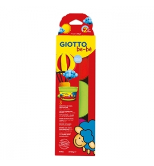 Pasta Modelar Giotto Be-Be 3x100gr