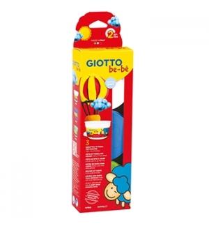 Pasta Modelar Giotto Be-Be Branco/Azul/Verde 3x100gr