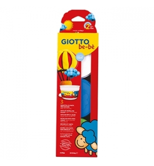 Pasta Modelar Giotto Be-Be 3x100gr