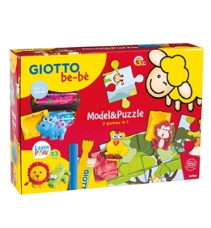 Conjunto Giotto Be-Be Model & Puzzle