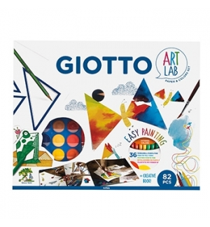 Conjunto Giotto Art Lab Easy Paiting