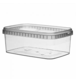 Caixa Alimentar PP Plástico Retangular 1200ml 1un